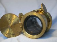 '   OPTIMUS -BRASS- '  Brass  Optimus Focusing Vintage Lens -NICE- £69.99